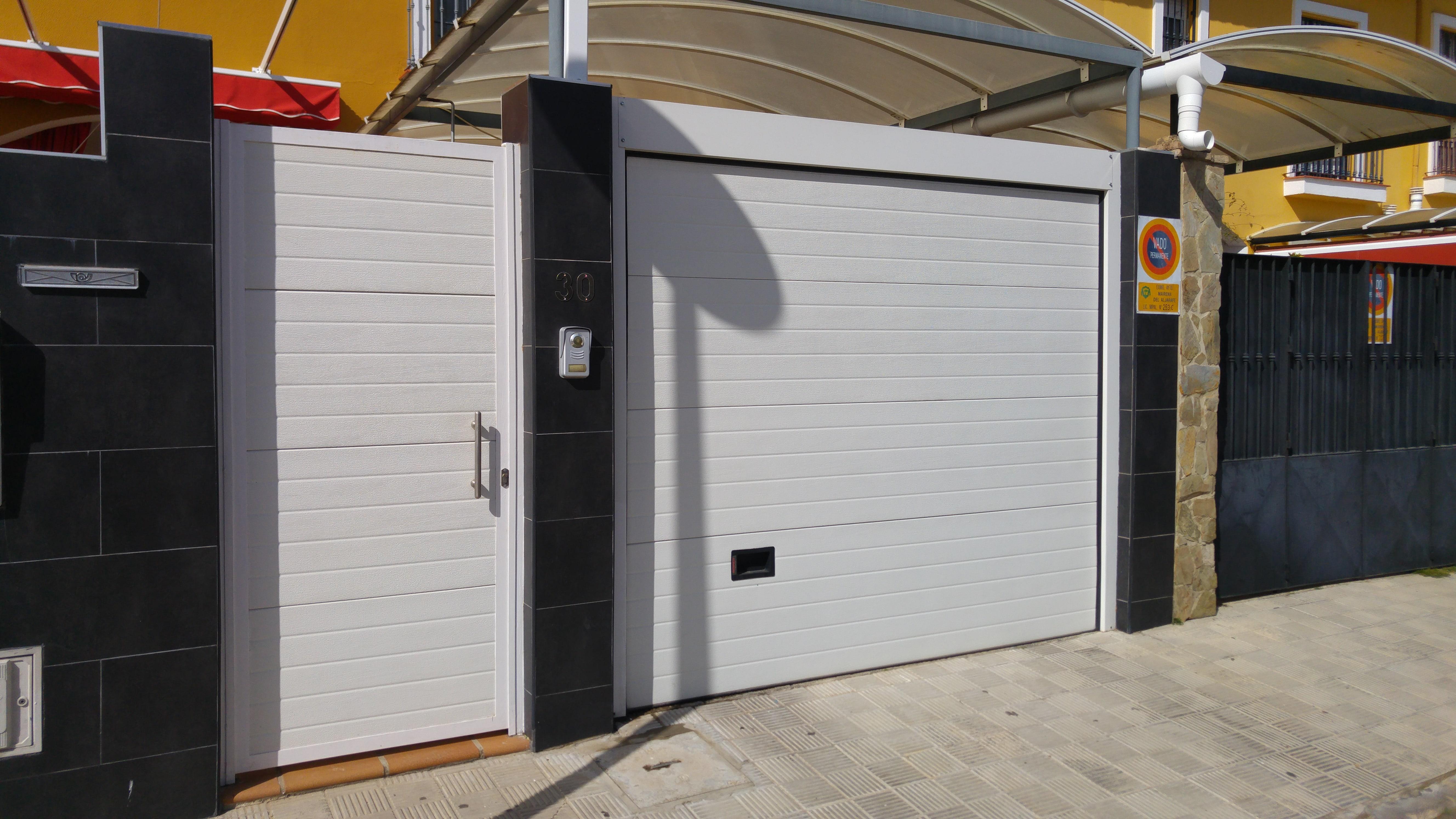 Puertas automaticas garaje precios cool cerrajera icod carpintera metlica econmica en santa - Puertas automaticas garaje precios ...
