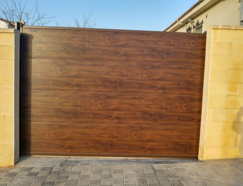 Puertas de garajes basculantes