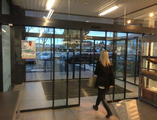 Puertas automáticas peatonales