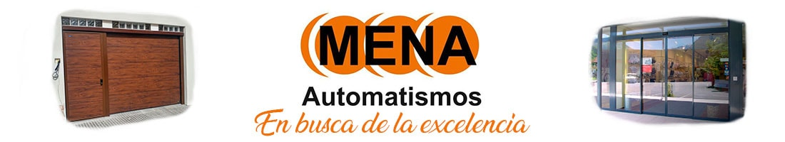 Puertas Automaticas Mena Logo
